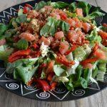 salade met veldsla