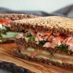 clubsandwich met zalm
