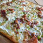 witte pizza met koolrabi 2