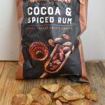 chips met cacao en rum