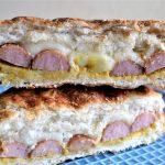 tosti met knakworst en port salut