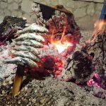 vis boven het vuur Andalusie