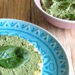 feta spread met spinazie en artisjokharten