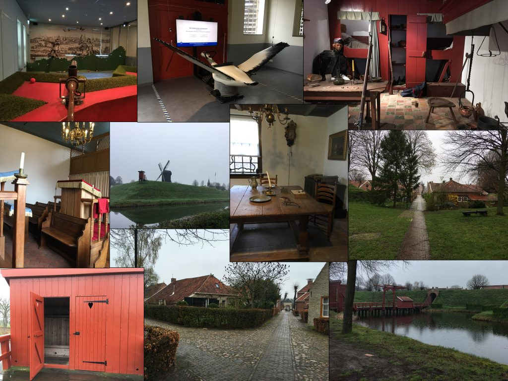 collage Bourtange