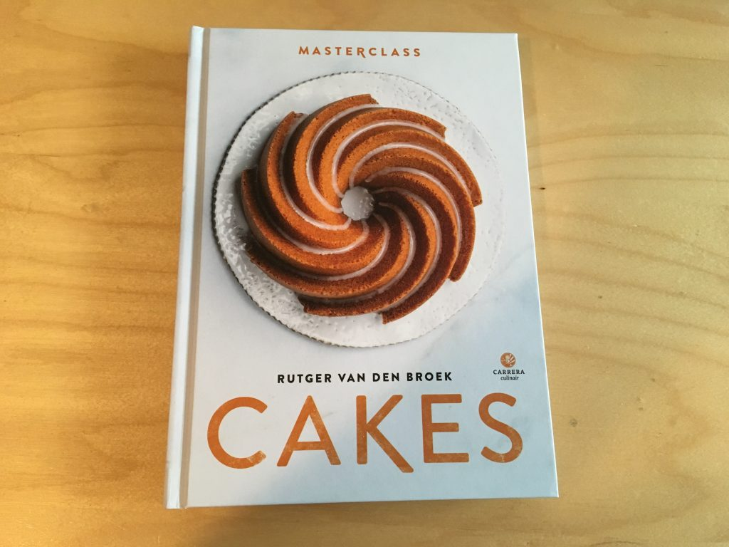 boek masterclass cakes van Rutger van den broek