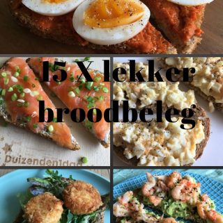 15 X lekker broodbeleg
