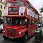 Dubbeldekker bus in Londen scaled