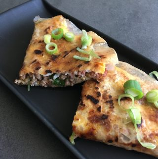 Vietnamese pizza Bánh Tráng Nuong scaled