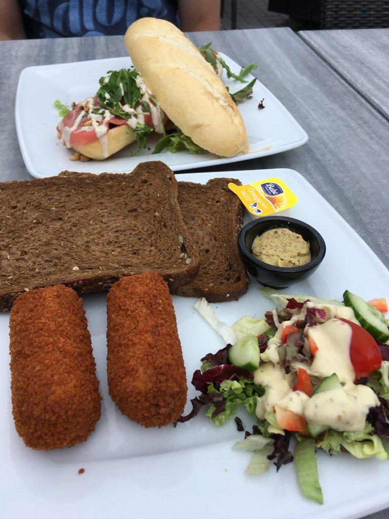 lunch bij wegrestaurant De Kar Veluwe